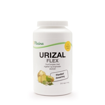 URIZAL FLEX - 250 TABLETTER